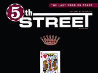 5th Street PokerMagazine Covers