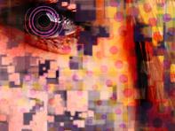 """Pixella 01"" abstract portrait"